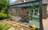 glazen schuifwand nice en easy 300 cm breedte-prima binnen-en buitenleven