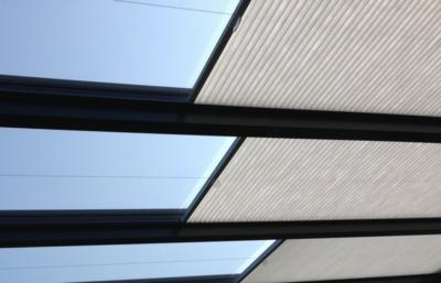 veranda zonwering grijs 80-100 cm